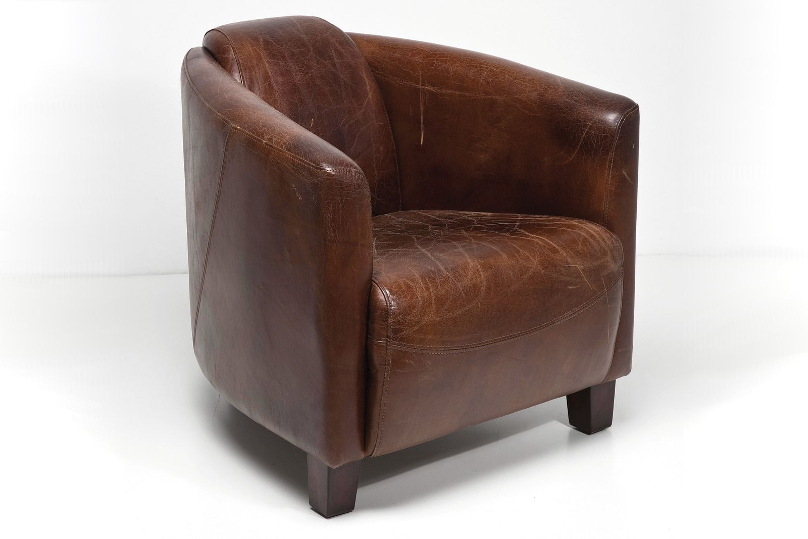 dewall sessel cigar lounge brown ledersessel loungesessel. Black Bedroom Furniture Sets. Home Design Ideas
