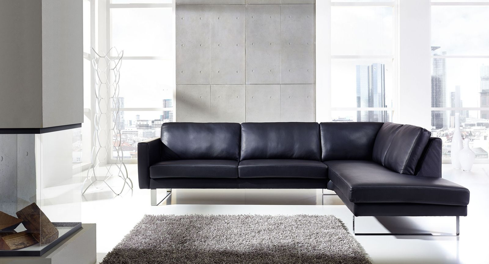 ledersofa nach ma life se sitzecke. Black Bedroom Furniture Sets. Home Design Ideas