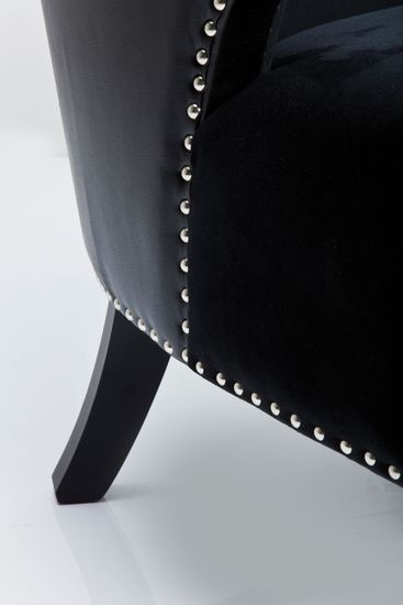 Sessel Rivet Black