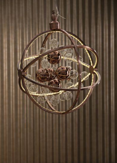 Hängeleuchte Universum Copper LED