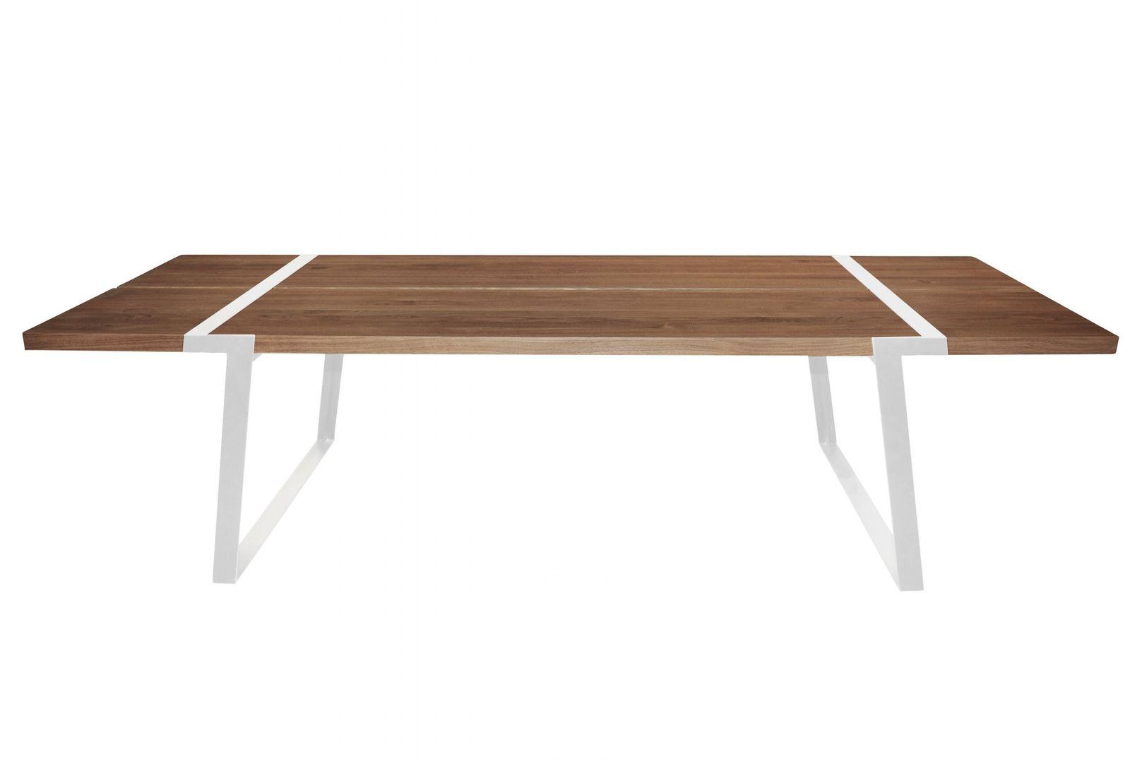 esstisch gigant 290 neutral wei massivholz l290 x b100 x h74 cm. Black Bedroom Furniture Sets. Home Design Ideas
