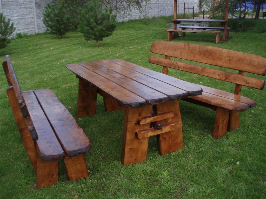 sitzgruppe natura 150 cm rustikal outdoor gartenm bel. Black Bedroom Furniture Sets. Home Design Ideas