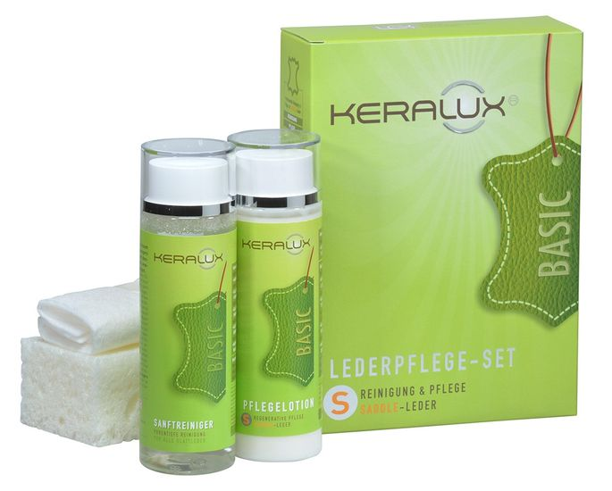 Keralux® Lederpflege-Set Saddle Leder