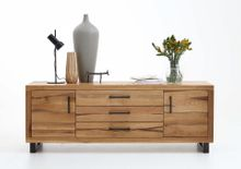 Sideboard Nature Balkeneiche massiv