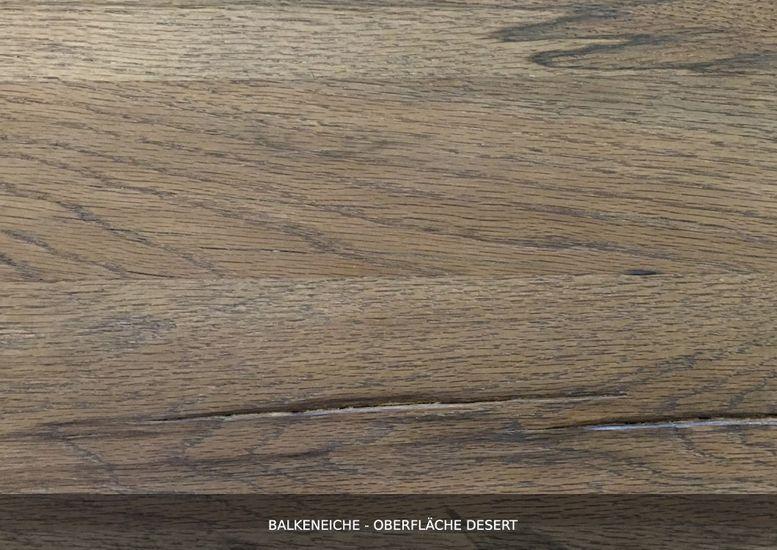 Lowboard Nature Balkeneiche massiv