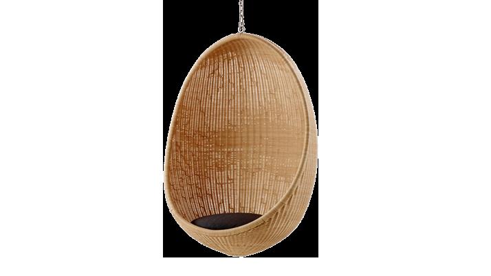 Rattan Hängesessel Egg - Design by Nanna Ditzel