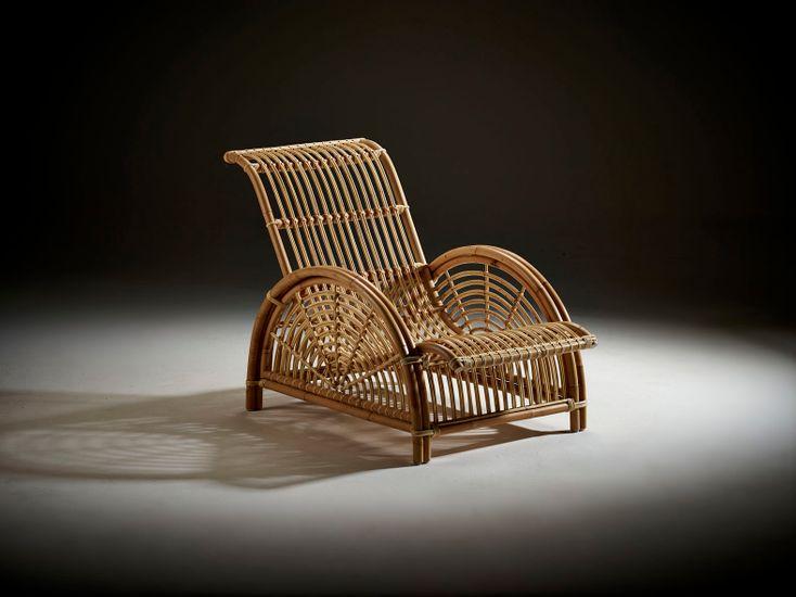 Rattan Sessel Paris - Design by Arne Jacobsen