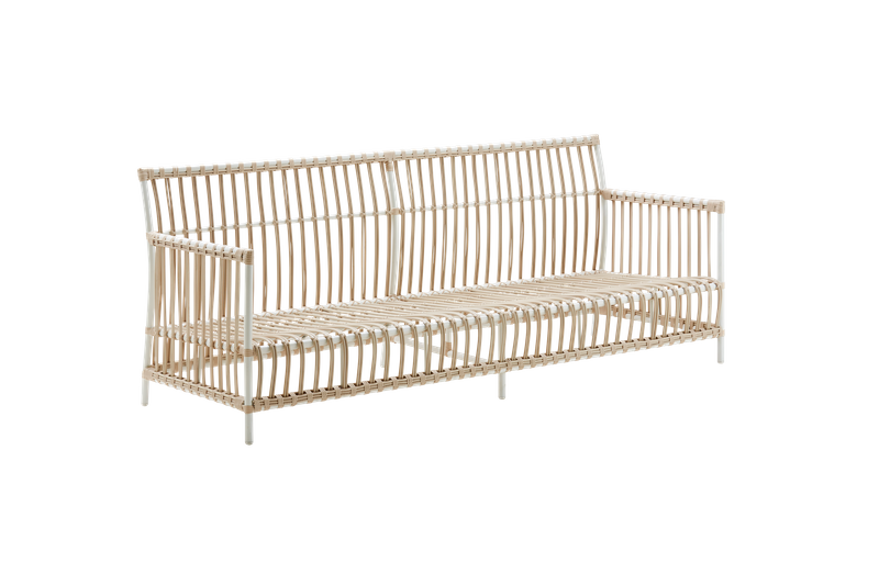 Outdoor Rattan Bank Caroline