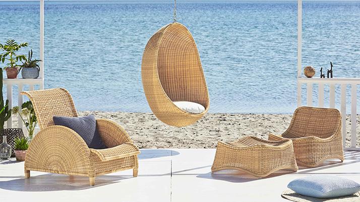 Sika design outdoor rattan sessel paris design by arne for Outdoor sessel design