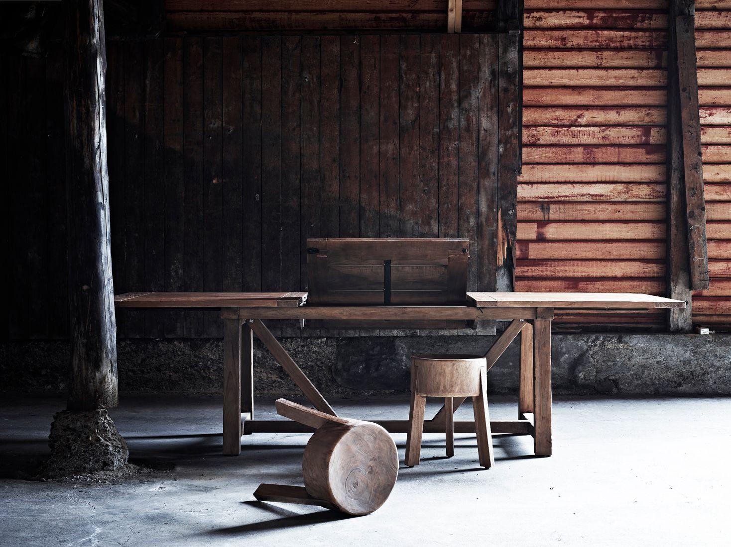 Sika Design Gartentisch George Teak 200x100 Cm Ausziehbar Auf 280 Cm