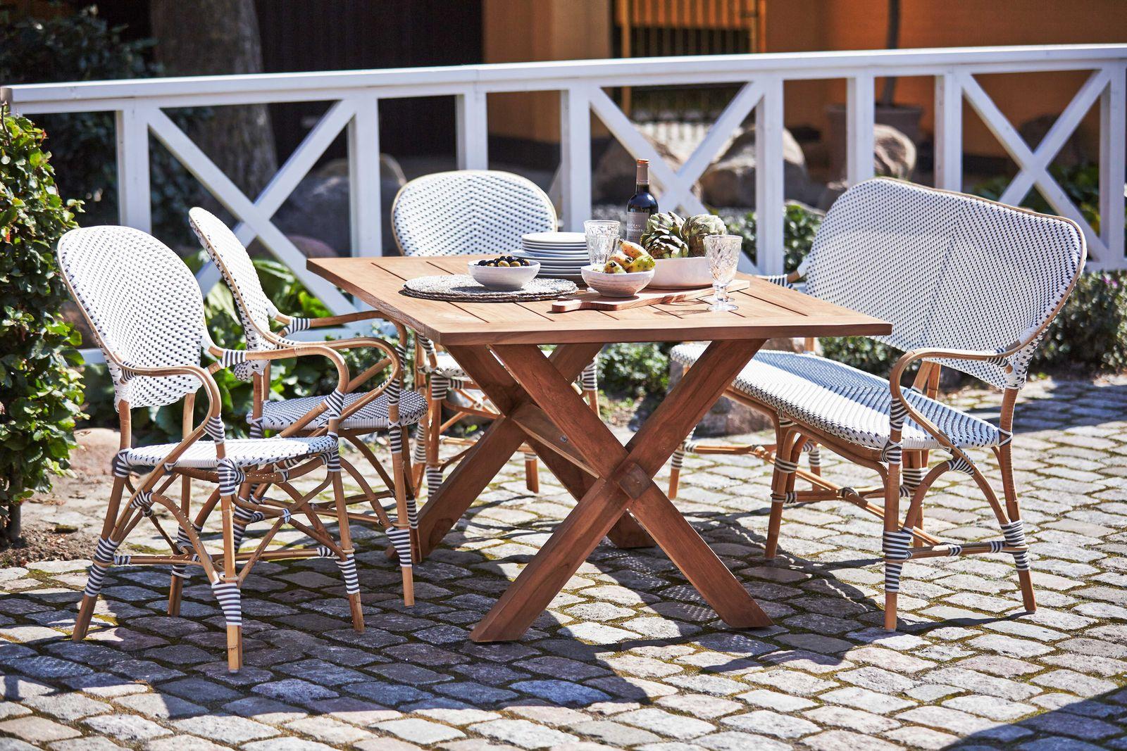 Gartentisch Colonial Teak 160x100 cm