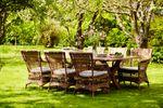 Gartentisch Colonial Teak 200x100 cm – Bild 2
