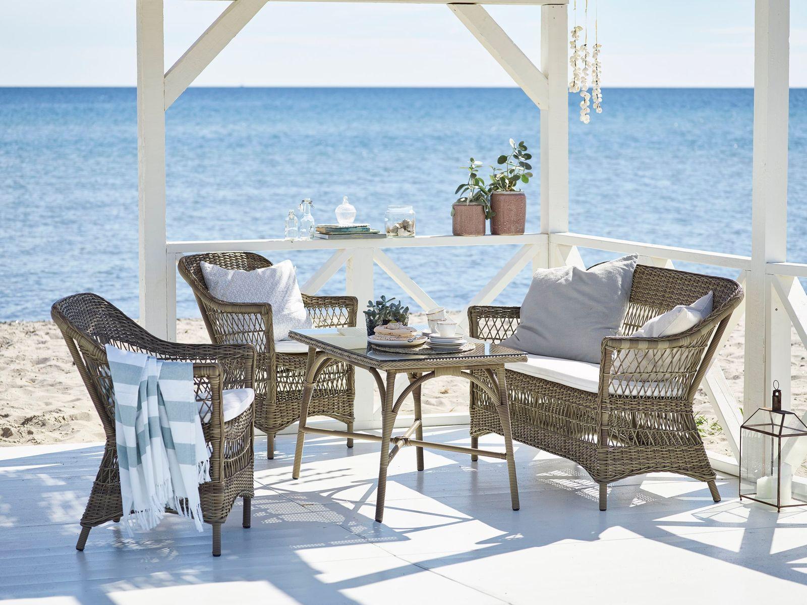 sika design outdoor rattan sessel charlot. Black Bedroom Furniture Sets. Home Design Ideas