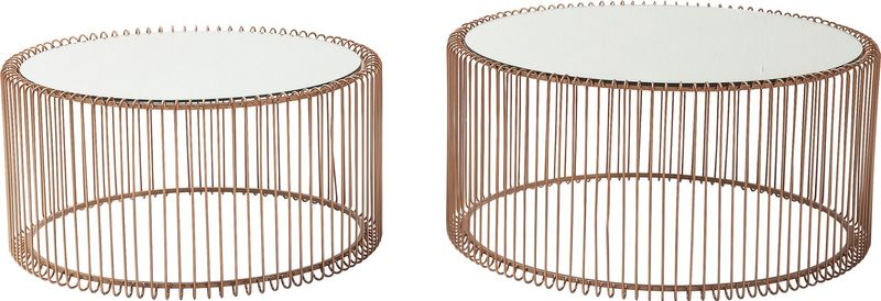 Couchtisch Wire Copper (2/Set)