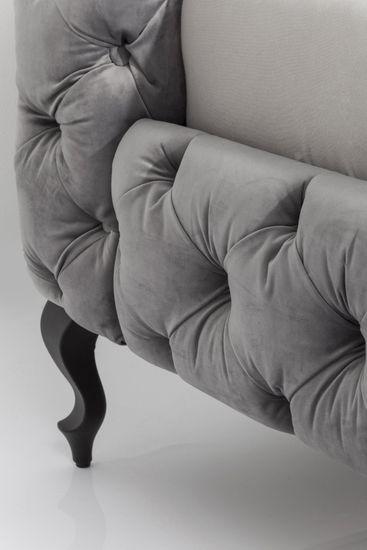 Bett Desire Silbergrau 160x200 cm