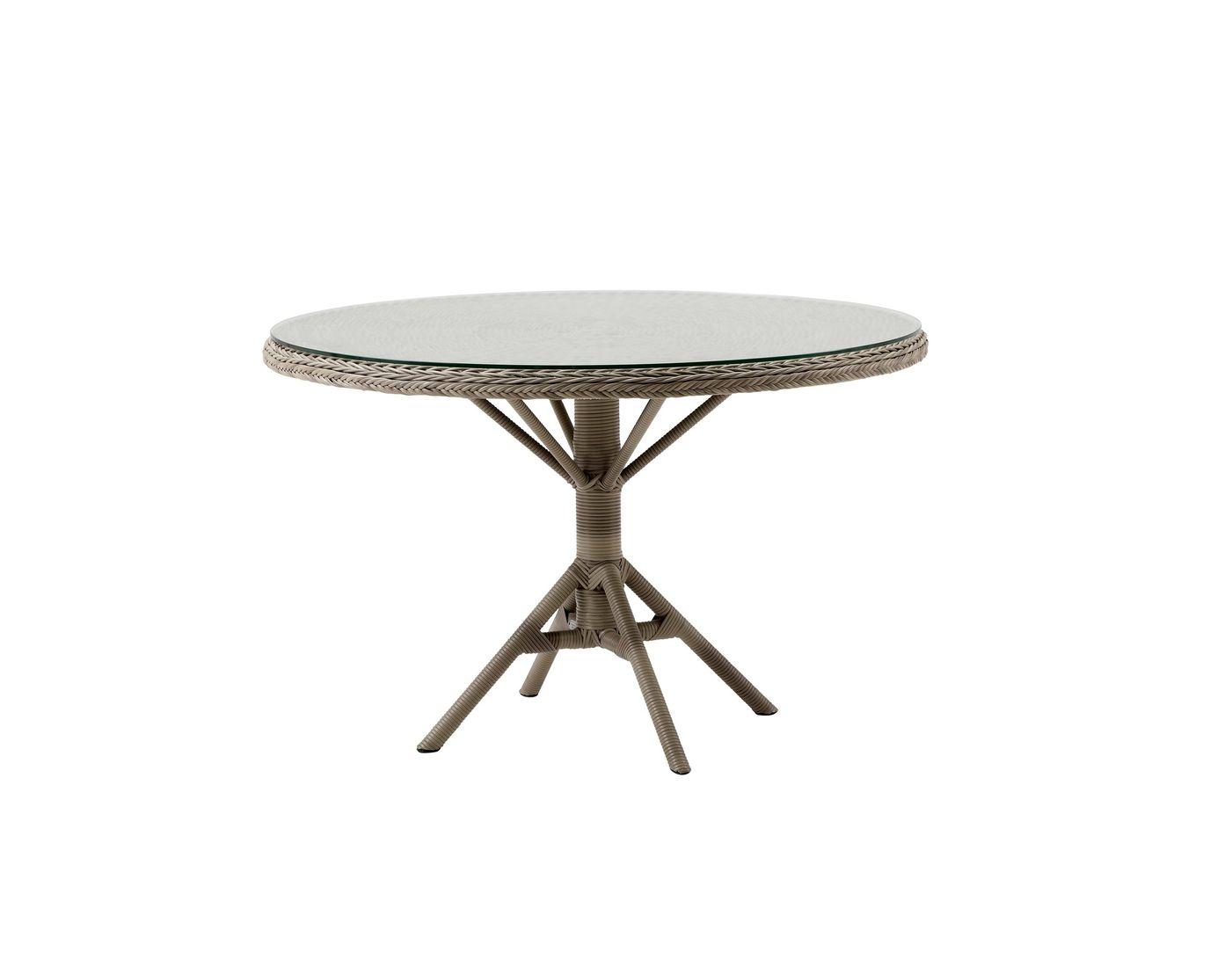 Sika design gartentisch grace rund 120 cm varianten in zubeh r - Gartentisch rund 120 ...