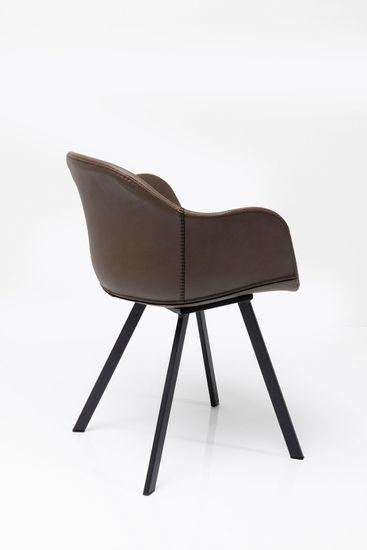 2er-Set Armlehnstuhl Lounge Grau