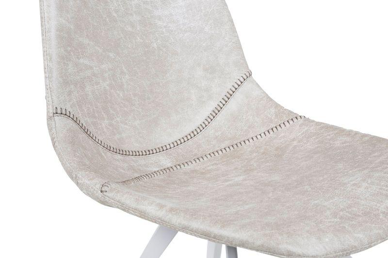 4er-Set Stuhl Liva Vintage weiß