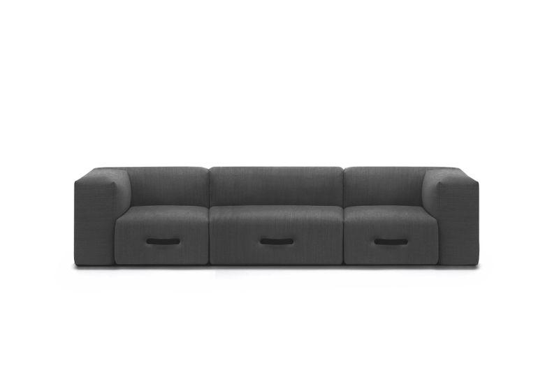 Modulares Outdoor Sofa Miami 3-Sitzer