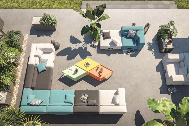 Miami Outdoor Lounge Sessel