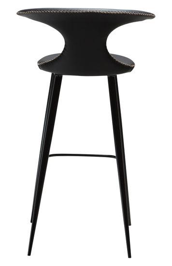 Barstuhl Flair Leder schwarz