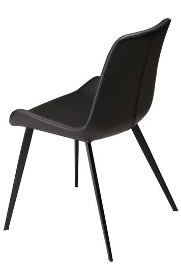 Stuhl Hype Kunstleder schwarz