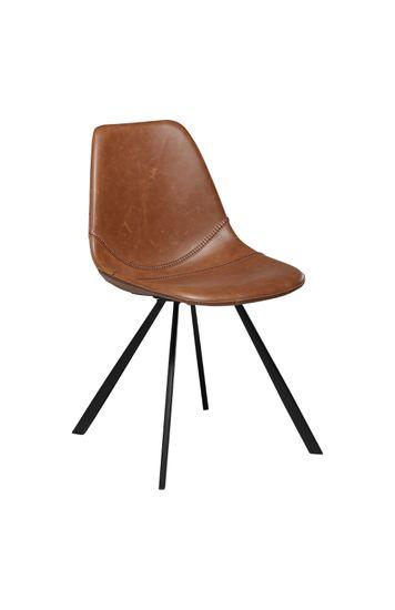 Stuhl Pitch Kunstleder Vintage hellbraun