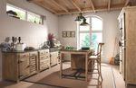 Kücheneckschrank mit Stauraum Pinie massiv – Bild 2