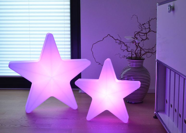 LED Stern 40 cm mit Akku