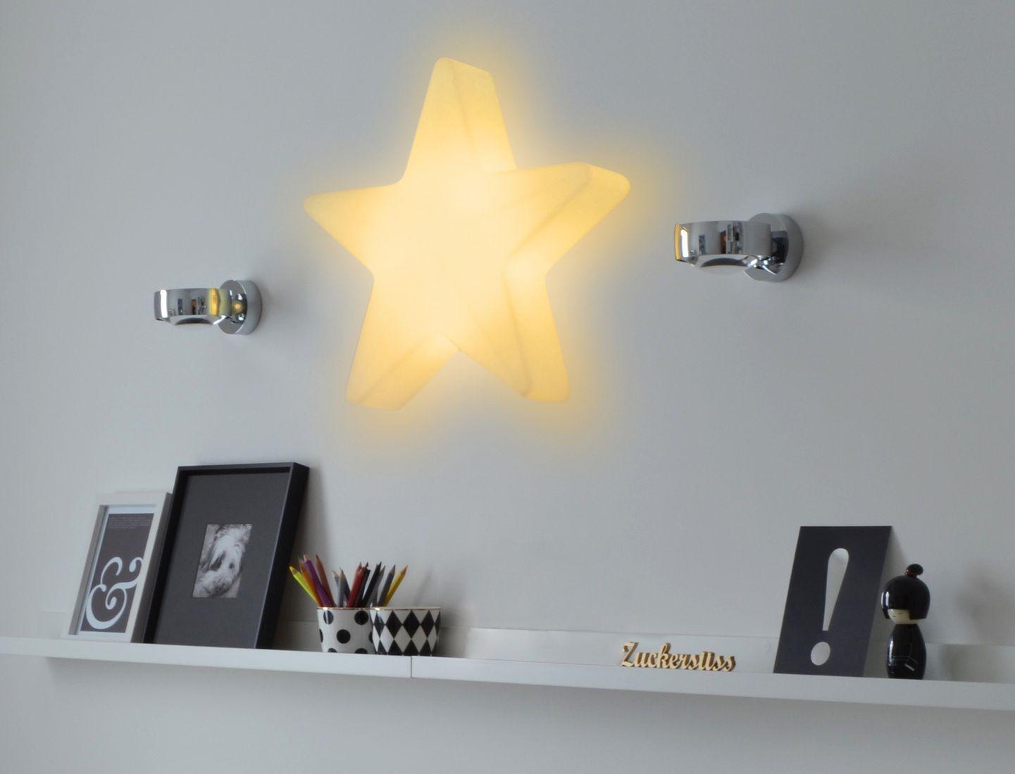 LED Stern 60 cm mit Akku