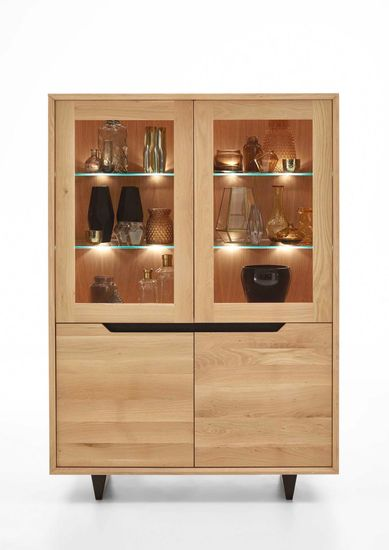 Highboard Extreme Wildeiche massiv