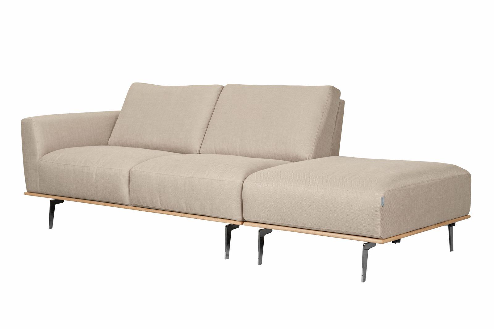furninova sofa noir mit hocker und holzrahmen manufaktur. Black Bedroom Furniture Sets. Home Design Ideas