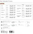 Furninova Sofa Noir mit Hocker und Holzrahmen  – Bild 5