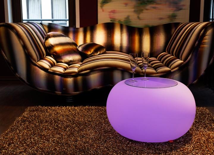 Beistelltisch Bubble Indoor LED