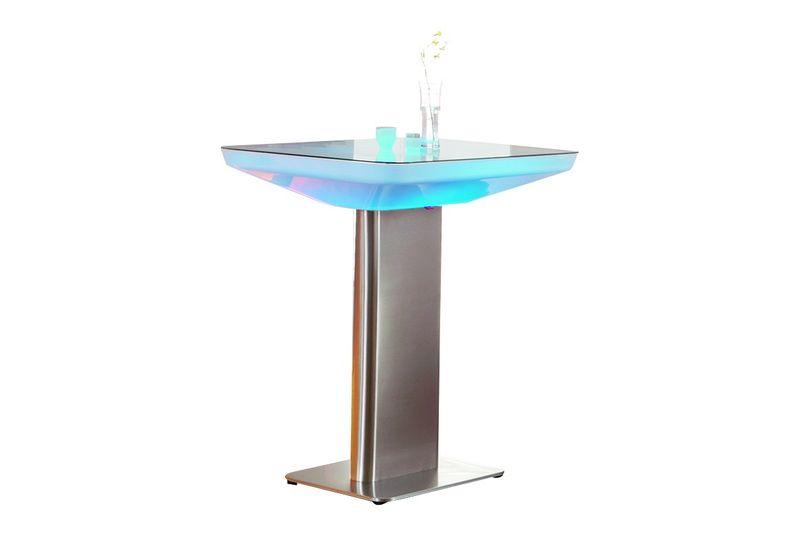 DeWall Stehtisch Studio 105 LED Pro Leuchttisch Loungetisch