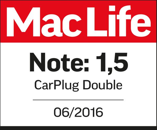 CarPlug Double USB-A Review MacLife
