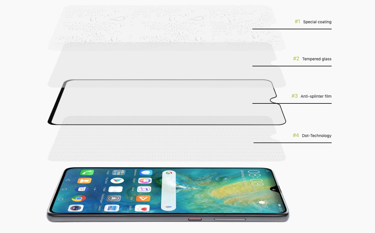 CurvedDisplay Android Material