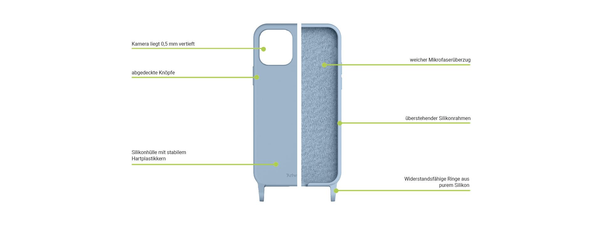 HangOn Case Silicone Material