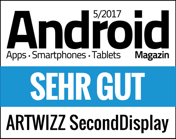 SecondDisplay Review Android Magazin