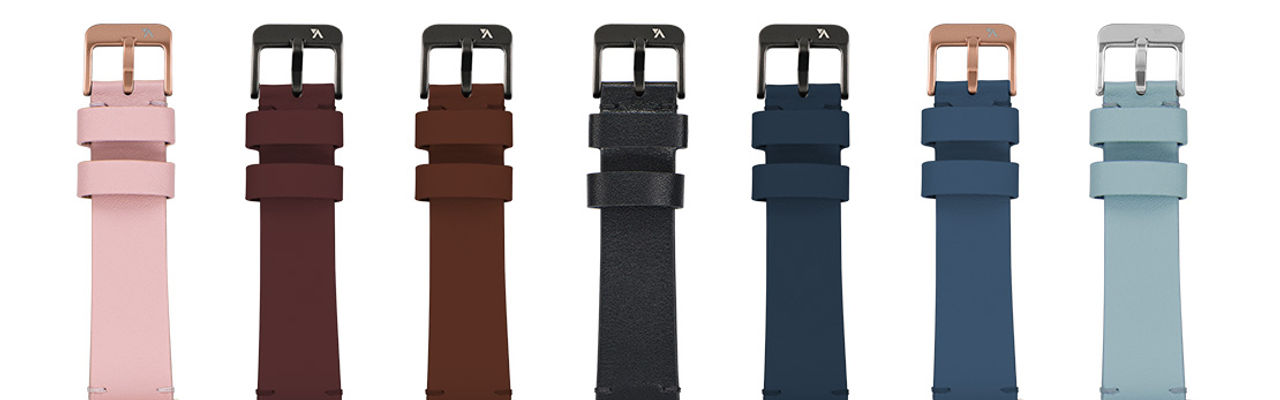 WatchBand Leather Colors