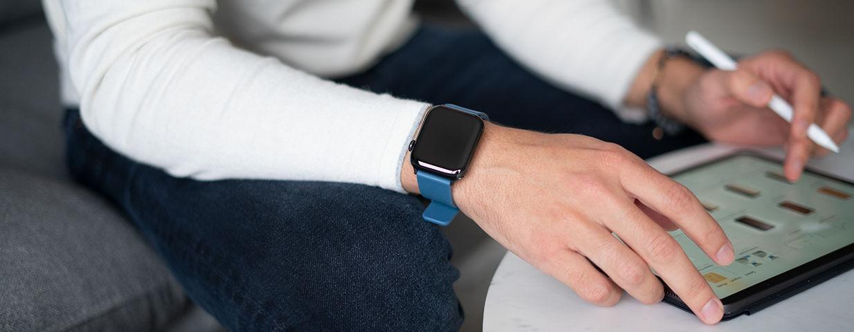 WatchBand Silicone Lifestyle