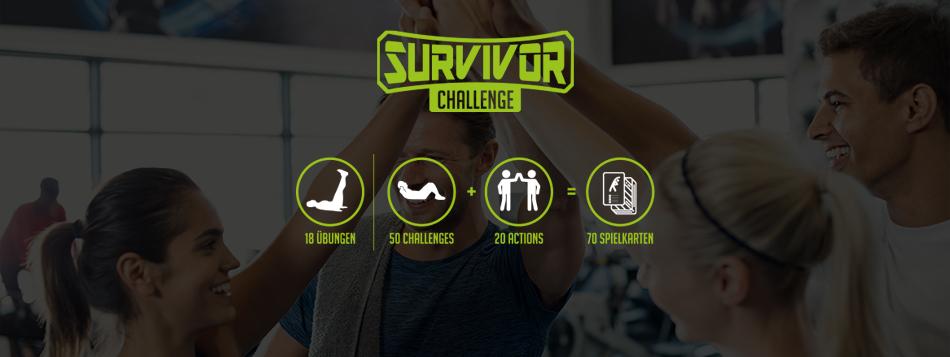 SURVIVOR CHALLENGE KARTENSPIEL
