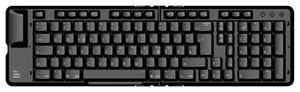 Matias Faltbare Erweiterte Bluetooth Tastatur, DE Belegung für Mac, iMac, iPad, iPhone (Mac OS und iOS) – Bild 1