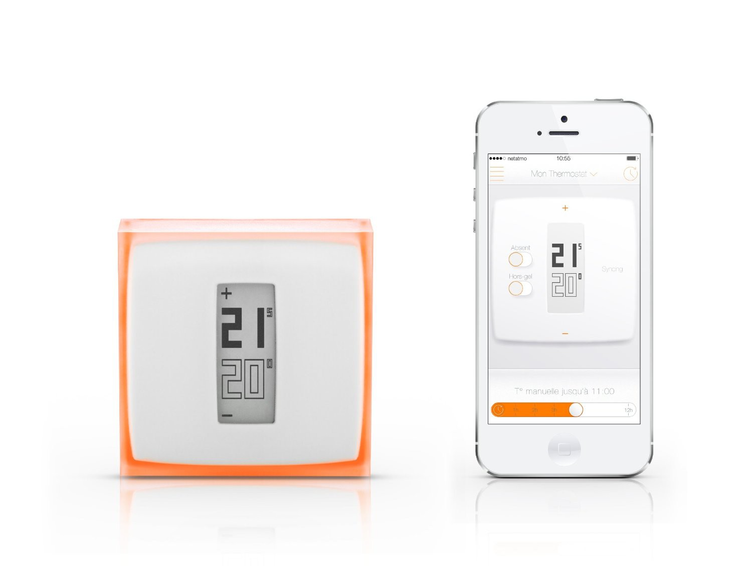 Netatmo Thermostat Steuerung Iphone Smartphone Android Smart Home