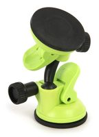 Tucano Car Holder Car phone holder adheres to smooth inner surfaces, green