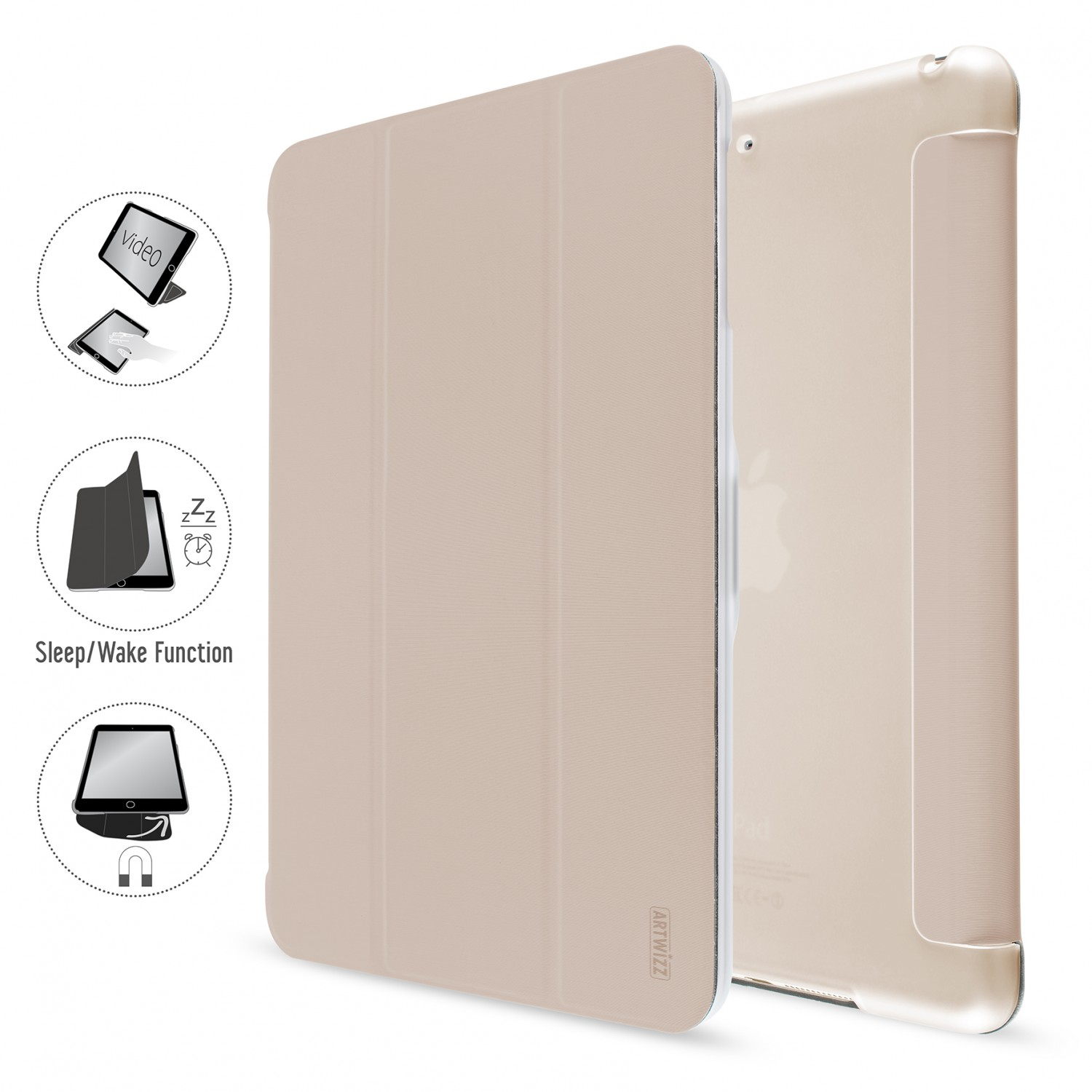artwizz ipad air 2  Artwizz Smart Jacket protection Cover Case Shell Case Cover for iPad ...