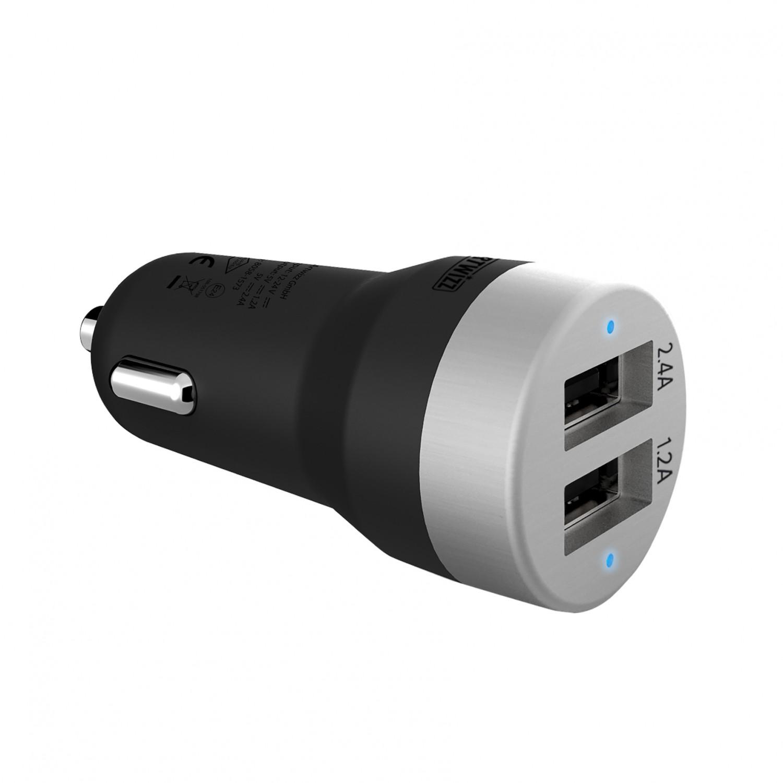 artwizz carplug double auto ladeger t mit zwei usb. Black Bedroom Furniture Sets. Home Design Ideas