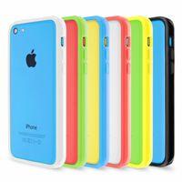 Artwizz Bumper Bumper aus Kunststoff und gummiertem Rand für iPhone 5c Artwizz