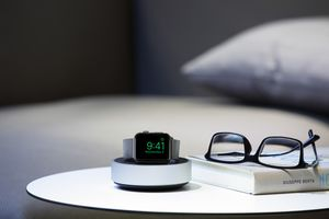 Just Mobile HoverDock for Apple Watch, Stand mit intelligenter Kabelaufbewahrung – Bild 7