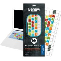Benaw Hotkeys - Tastatur Skin Adobe Photoshop für MacBook/Pro/Air/Wireless-Tastaturen (deutsch)